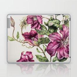 Purple Flowers 3 Laptop & iPad Skin