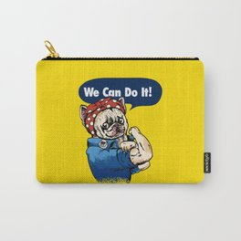 We Can Do It French Bulldog Carry-All Pouch