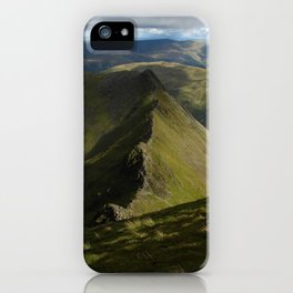 Striding Edge iPhone Case