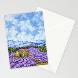 Lavender Farm Stationery Cards