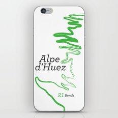 Famous Climbs: Alpe d'Huez 1, Modern iPhone & iPod Skin