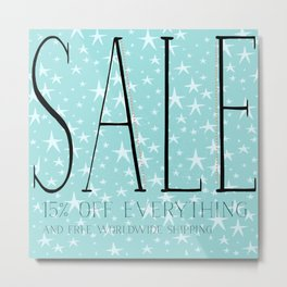 valentine 's day sale! 15% off everything  Metal Print