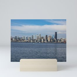 Seattle Landscape Mini Art Print