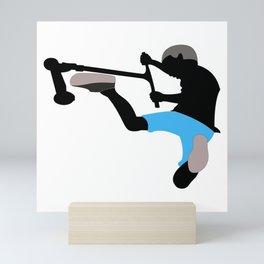 Scooter freestyle hardcore Mini Art Print