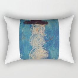 Kyles Snowman Rectangular Pillow