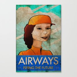 Stewardess II Canvas Print