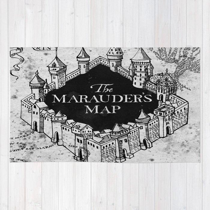 Marauders Map Rug by bimorecreative   Society6
