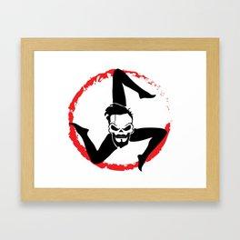 Triskele Framed Art Print