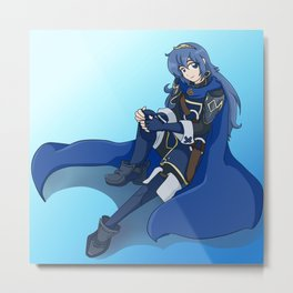 Princess from the Future - Lucina Metal Print