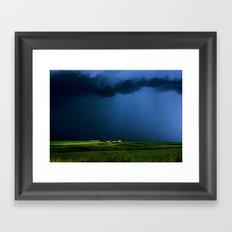 Wild, wild weather Framed Art Print