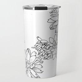 Dahlias Travel Mug
