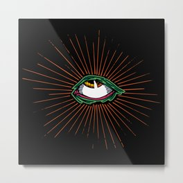 Third Eye Roll Metal Print