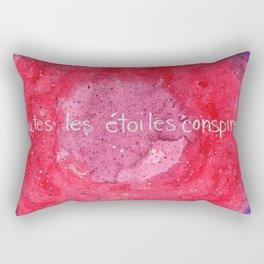 Toutes les étoiles conspirent Rectangular Pillow