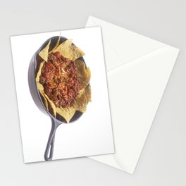 Chili Cheese Nachos Stationery Cards