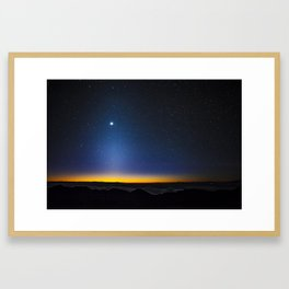Stars in Hawaii Framed Art Print