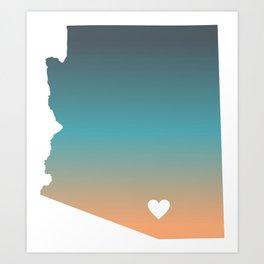 Arizona - Tucson Art Print