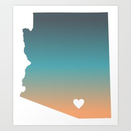 Arizona - Tucson Art Print