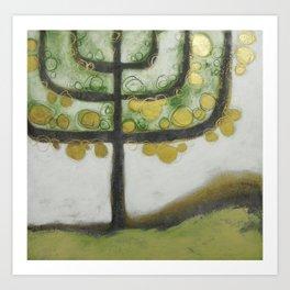 L'albero della luce Art Print