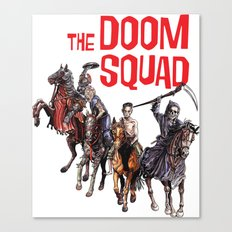 Doom Squad Canvas Print