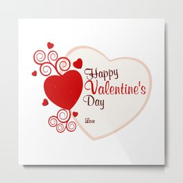 Day Valentine Metal Print
