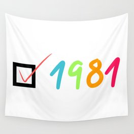 1981 Wall Tapestry