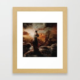 Character Poster Series - The Queen Framed Art Print