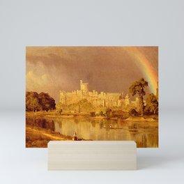 Sanford Robinson Gifford - Study of Windsor Castle Mini Art Print
