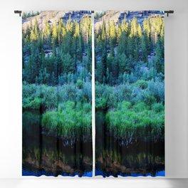 Watercolor Landscape, Lost Creek Wilderness 34, Colorado Blackout Curtain