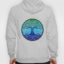 Tree of Life - Cool Blue Hoody