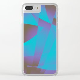 Underwater Smile Clear iPhone Case