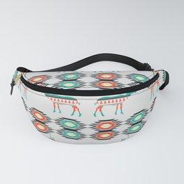 Festive deer pattern Fanny Pack