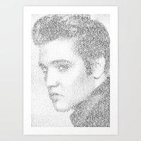 Elvis: Suspicious Minds Art Print