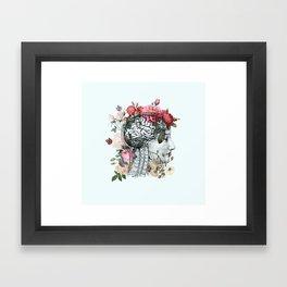Beautiful Brain Framed Art Print