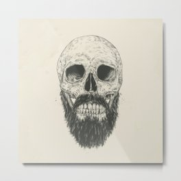 The beard is not dead Metal Print