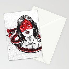 Snake Charmer Stationery Cards