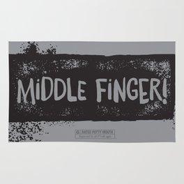 Middle Finger! Rug
