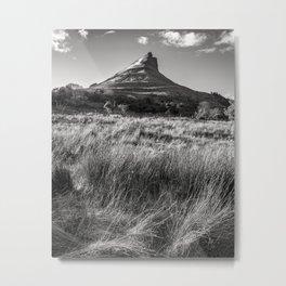 The Benwiskin mountain i Sligo - Ireland Prints (RR 262) Metal Print