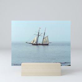 Tall ship Sails by Mini Art Print