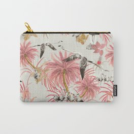 Tropical island of flamingos II Carry-All Pouch