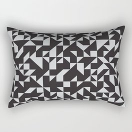 Girard Inspired Geometric Pattern Rectangular Pillow