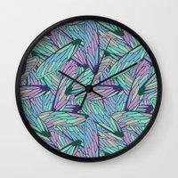 wings Wall Clocks featuring Wings by AnaAna