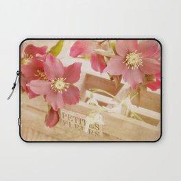 Romantik pink flower still life Laptop Sleeve