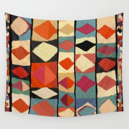 moroccan triangle Wall Tapestry