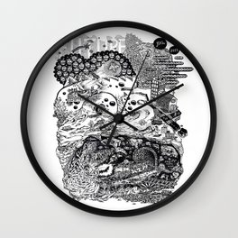 Downtown Wall Clock