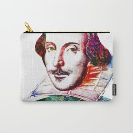 Graffitied Shakespeare Carry-All Pouch
