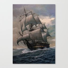 Black Sails Canvas Print