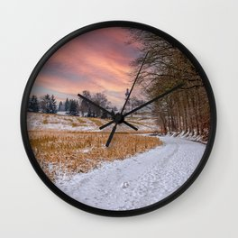DE - Baden-Württemberg : View on St. Petter and Paul Wall Clock