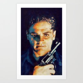 James Cagney, Hollywood Legend Art Print