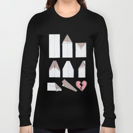 Paper Planes Make Broken Hearts Long Sleeve T-shirt