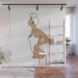 Silhouette 5 Wall Mural